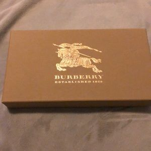 Burberry wallet box, with tag